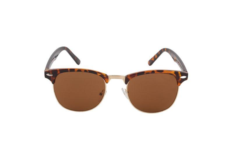 Buy Petrol Brown Wayfarer Sunglasses For Men online