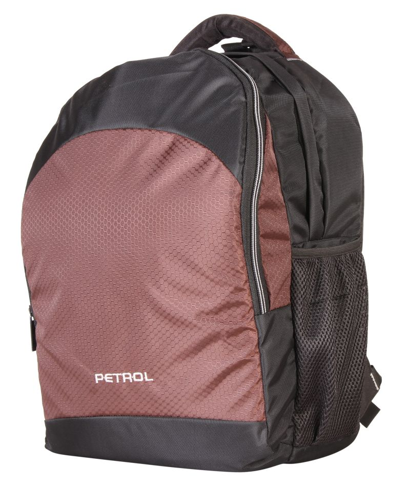 Buy Petrol Brown Laptop Bag online