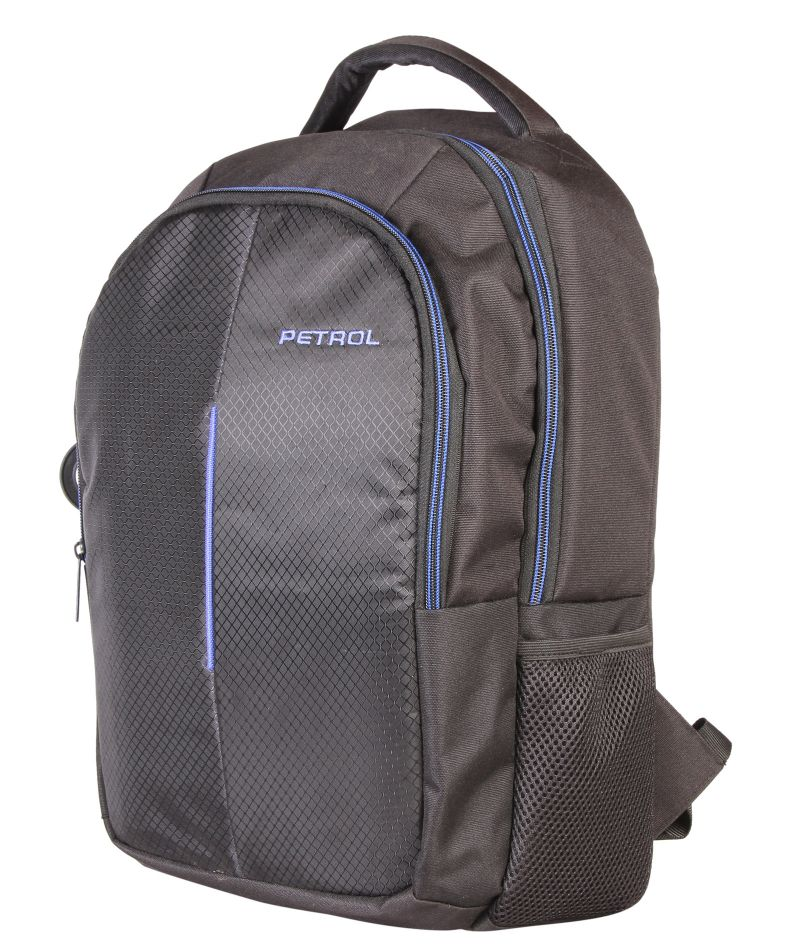 Buy Petrol Black Laptop Bag online