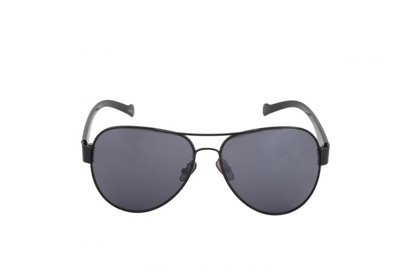 Buy Petrol Black Aviators Sunglasses For Men online
