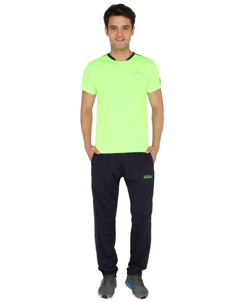 Buy Sgx Men'S Stylish Sports Round Neck T-Shirt online
