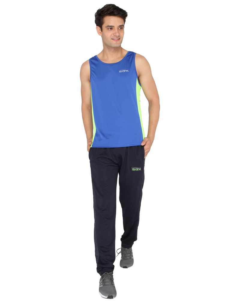 Buy Sgx Men'S Stylish Sports Round Neck T-Shirt online