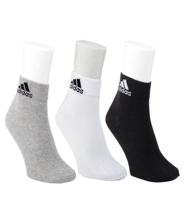 Buy Adidas Cotton Socks Pack Of 3 online