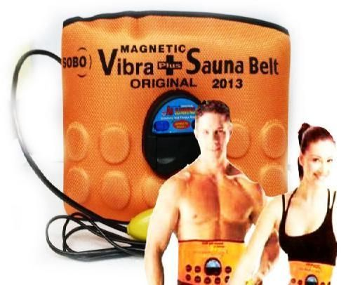 Buy Vibrating Sauna Slimming Belt 3 In1 Vibra Vibration online