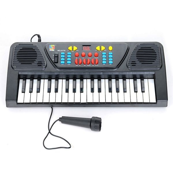 Buy Melody 37 Keys Musical Electronic Piano Keyboard With Karaoke Mic For Kids online