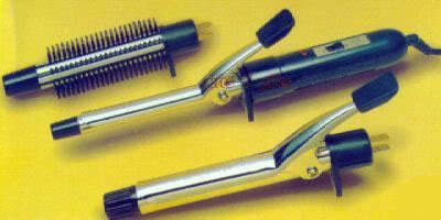 Buy 3 In 1 Interchangeable Hair Curler Straightener Curling Rod Iron Brush online