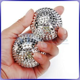 Buy Magnetic Acupressure Needled Ball For Exercise online