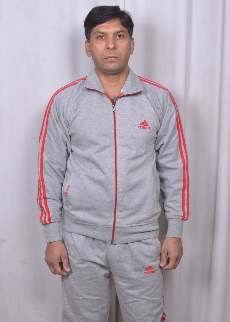 Buy Combo Offer Adidas Black Track Suit Blue Stripes And 3 Pair Adidas Socks online