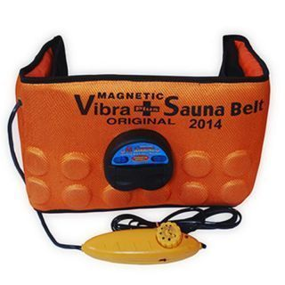 Buy 3 In 1 Sauna Belt Massager Slimming Vibrating, Acupressure Belt Vibration online