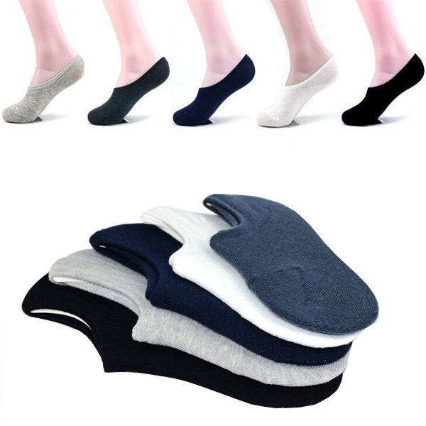 Buy Pack Of 5 Savicent Loafer Socks online