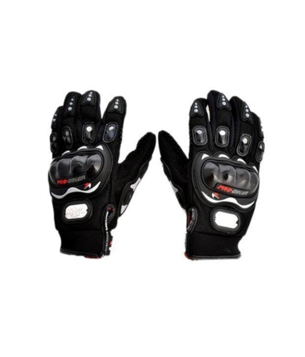 Buy Pro Biker - Motorcycle Motorcross Bike Racing Riding Gloves - Black online
