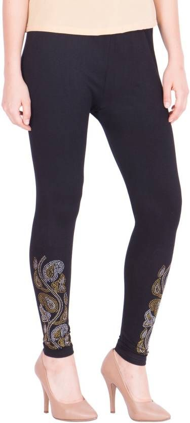Buy Women Party Wear, Ladies Jegging Black online