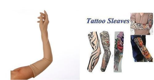 Buy Combo Of Long Full Sleeves Skin And Tattoo Sleeves For Biking Sun Protection online