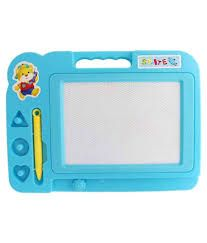 Buy Drawing & Writing Slate / Board For Children. Writing Slate / Drawing Practice Slate / Magnetic Rubber And Pencil online