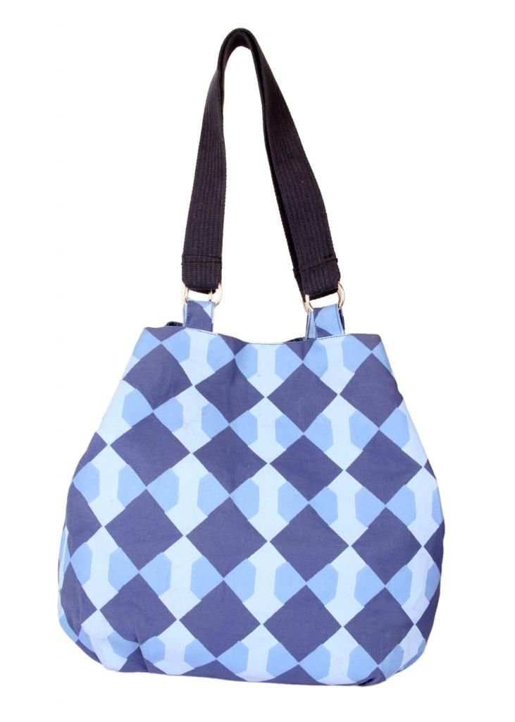 Buy Pick Pocket Canvas Denim Shaded Jholi Bag online