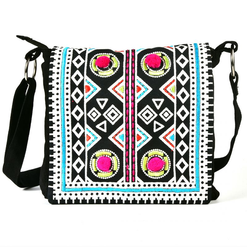 Buy Pick Pocket Canvas Printed Jholi Bag Online | Best Prices in ...