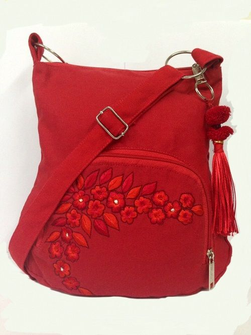Buy Red Sling Bag Online | Best Prices in India: Rediff Shopping