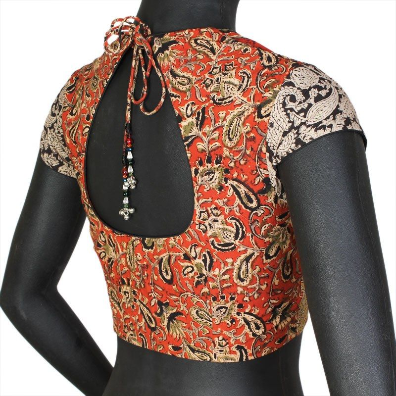 Buy The Blouse Factory A Mix And Match Kalamkari Blouse Online