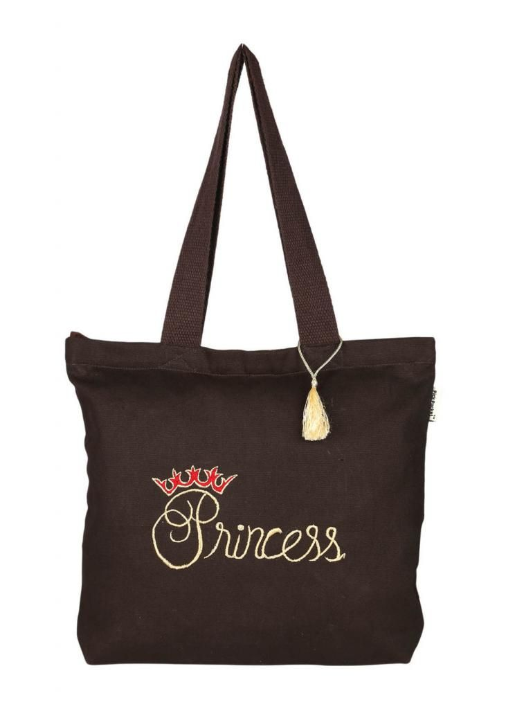Buy Pick Pocket Canvas Royal Prince Tote Bag online