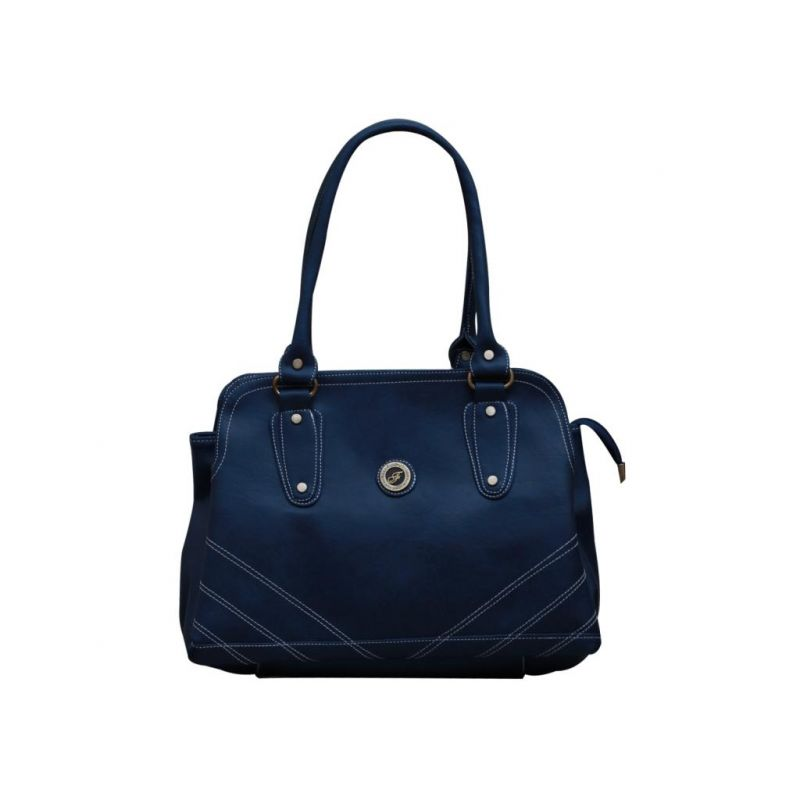 Buy Fostelo Diamond Studded Blue Handbag online