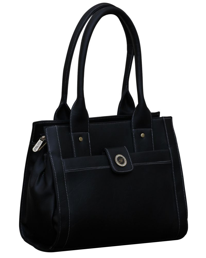 Buy Fostelo Ocean Side Black Handbag online