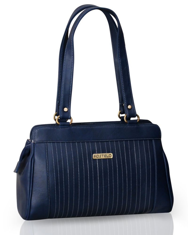 Buy Fostelo Royal Kate Blue Handbag online