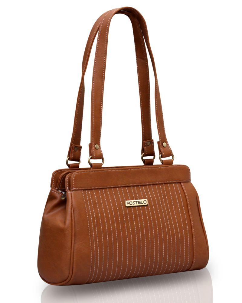 Buy Fostelo Royal Kate Tan Handbag online