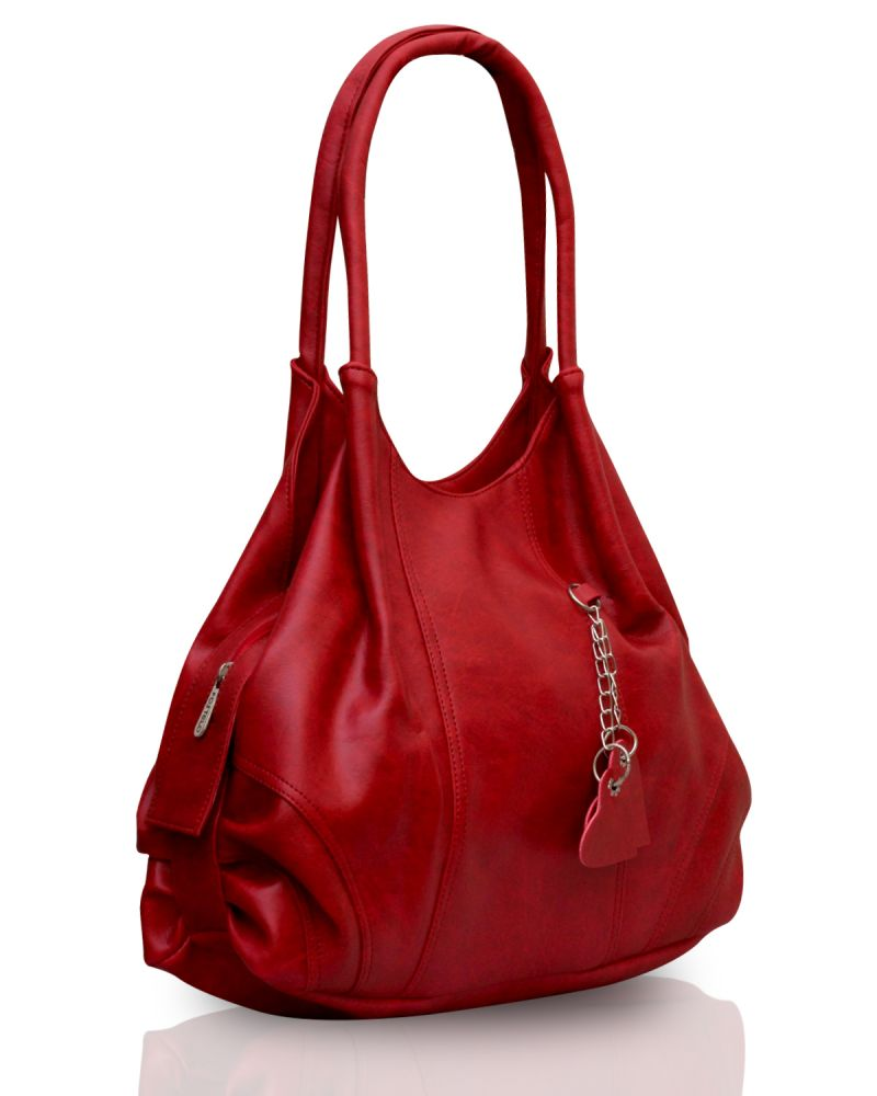 Buy Fostelo Style Diva Red Handbag Online   Best Prices in India ... d2943b9a59