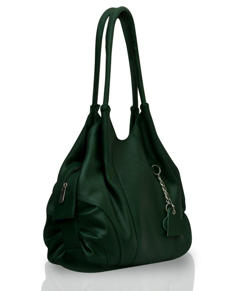 Buy Fostelo Style Diva Green Handbag online