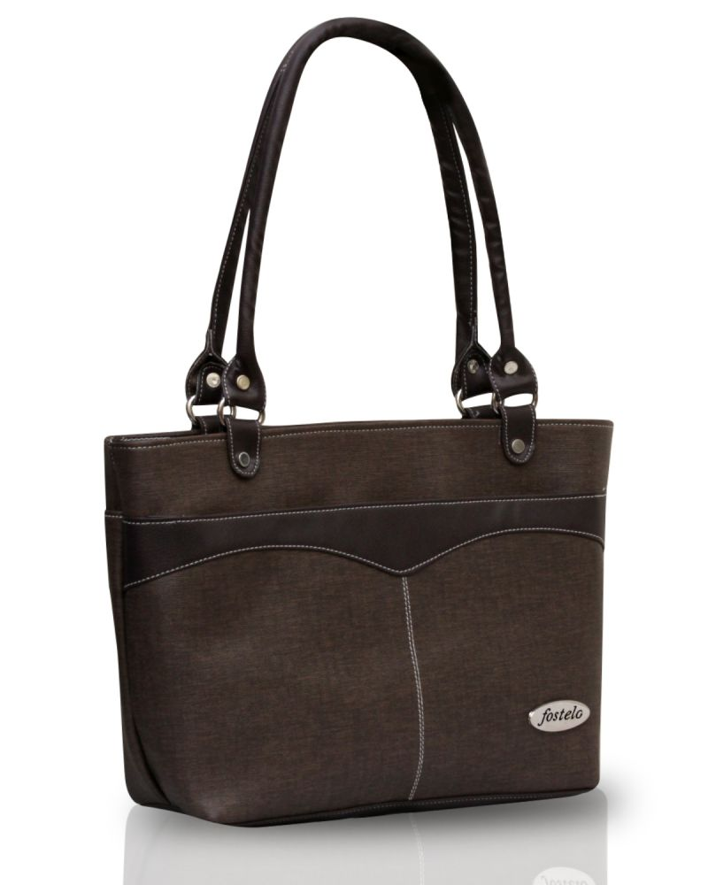 Buy Fostelo Eco Elliot Brown Handbag online