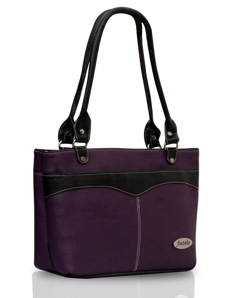 Buy Fostelo Eco Elliot Purple Handbag online