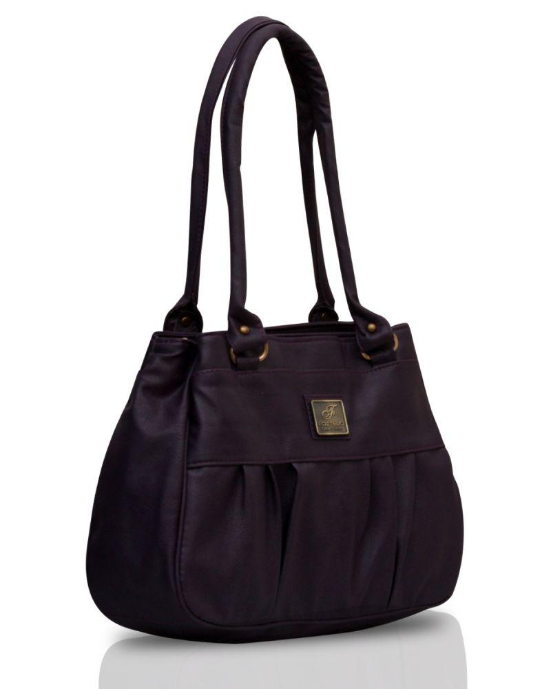 Buy Fostelo Deux Purple Handbag online