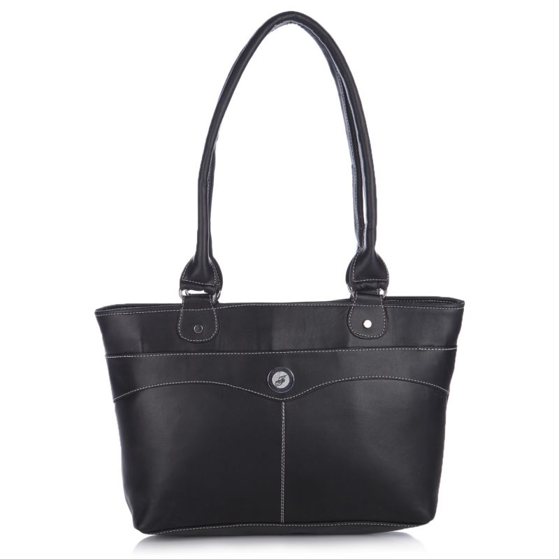 Buy Fostelo Chandler Medium Black Handbag online