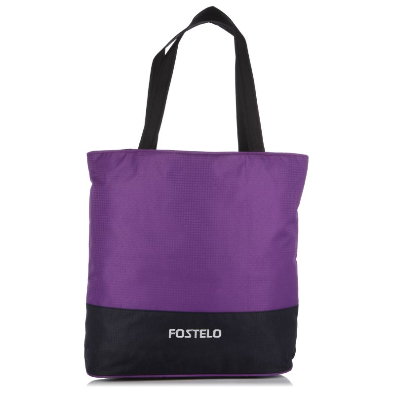 Buy Fostelo Casual Large Purple Handbag online
