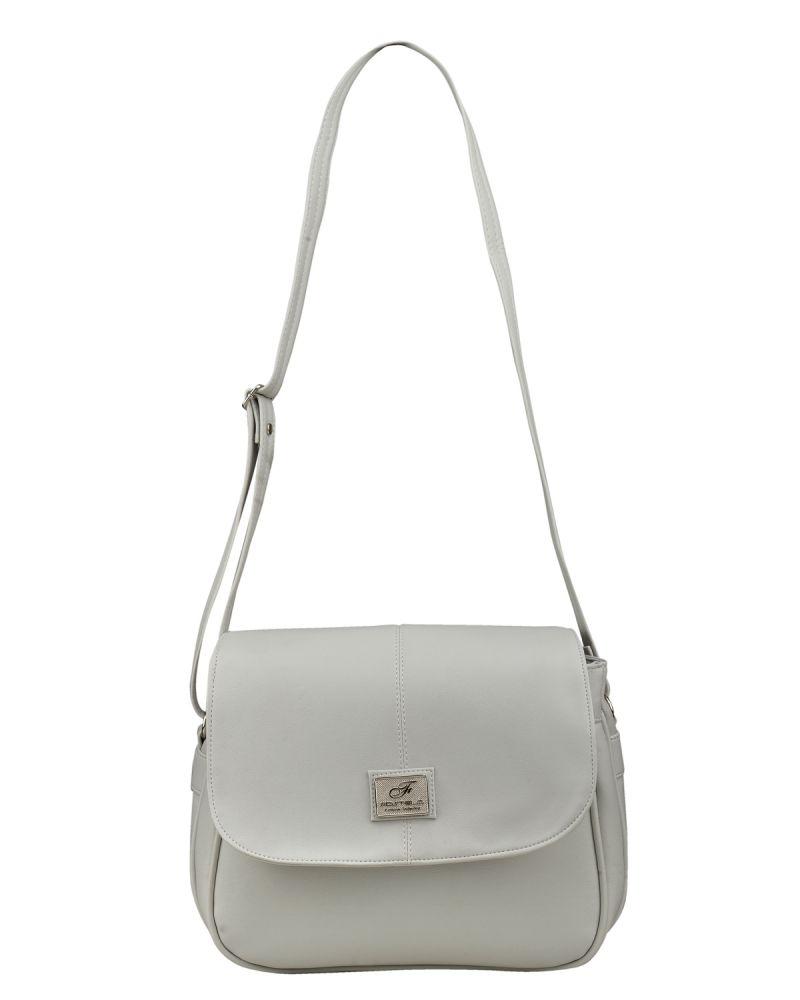 Buy Fostelo Women's Stylish Shoulder Bag Gray (fsb-731) online
