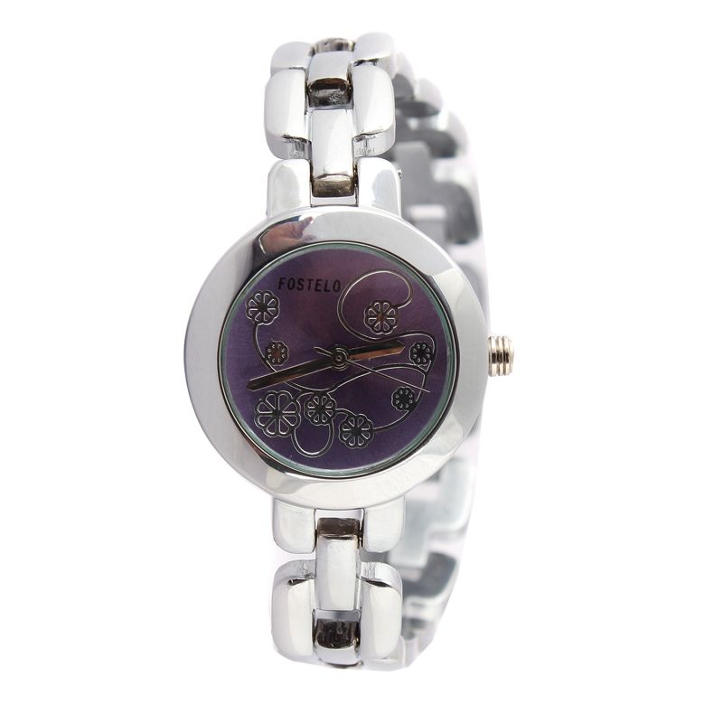 Buy Fostelo Purple Womens Wrist Watch online