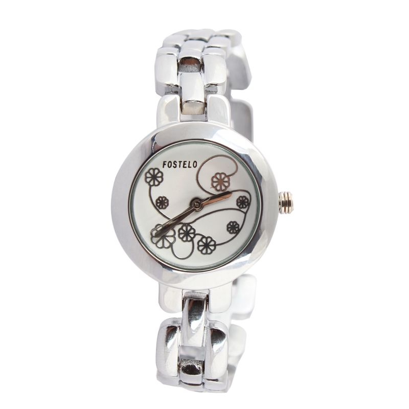 Buy Fostelo White Womens Wrist Watch online