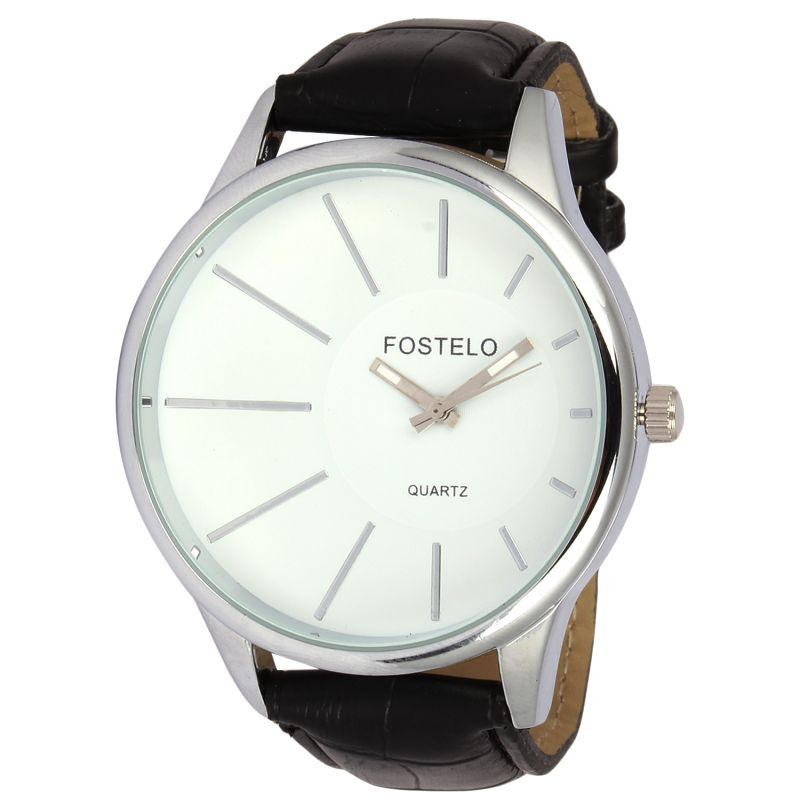 Buy Fostelo White Mens Wrist Watch online