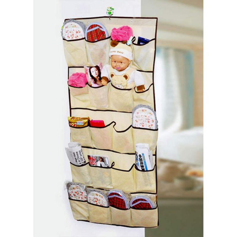 Buy Hanging Canvas 20 Pocket Door Shoe Organizer Online