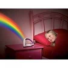 Buy Kawachi Romantic Colourful LED Projector Lucky Rainbow Light Small Night Li online