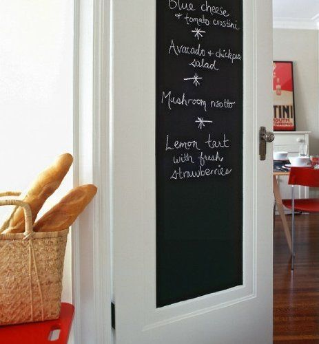 Buy Kawachi Blackboard Wall Sticker Removable Vinyl Sticker Decal With One Free Chalk online