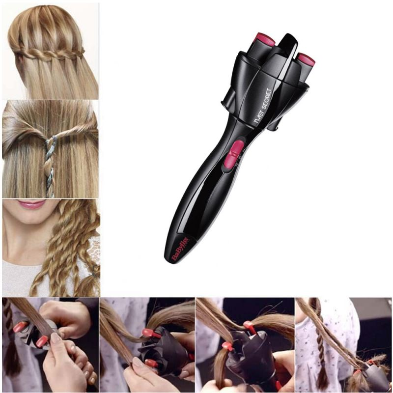 Buy Kawachi Electric Automatic Smart Quick Easy Diy Braid Hair Braider Hairstyle Tool Hair Braiding Machine-k363 online