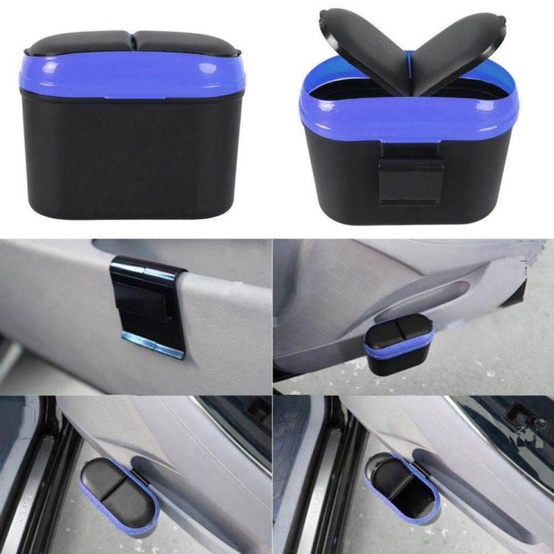 Buy Kawachi Mini Home Car Auto Trash Can Garbage Dust Holder Box Car Organizer Used In Car Home Office-k376 online