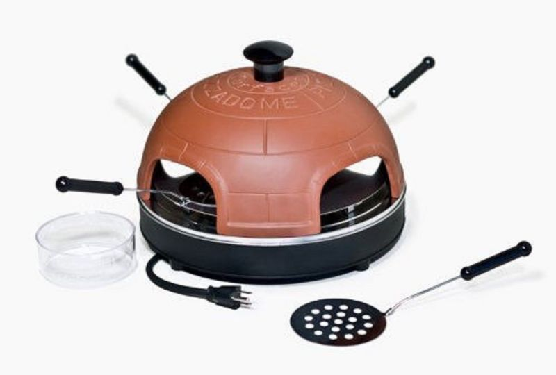 Buy Portable Pizzadome   Portable Italian Brick Pizza Oven 4 Person Online  | Best Prices In India: Rediff Shopping