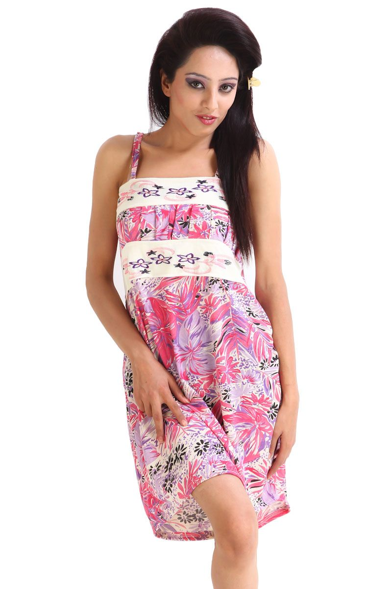 Buy Fasense Exclusive Women Hosiery Cotton Nightwear Sleepwear Short Nighty  online 955360df0