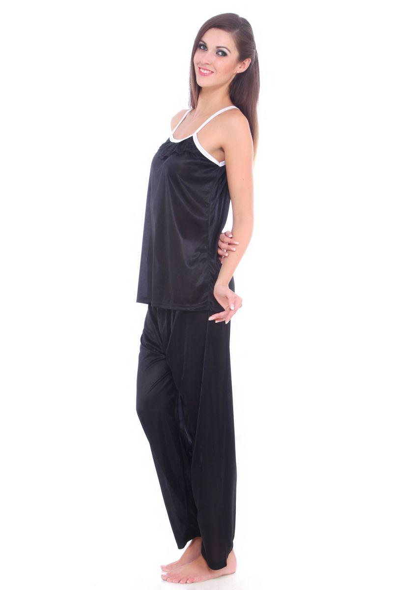 f13c7f800e Fasense Women Satin Nightwear Sleepwear Pyjama Set Night Suit Dp064 B. 50%