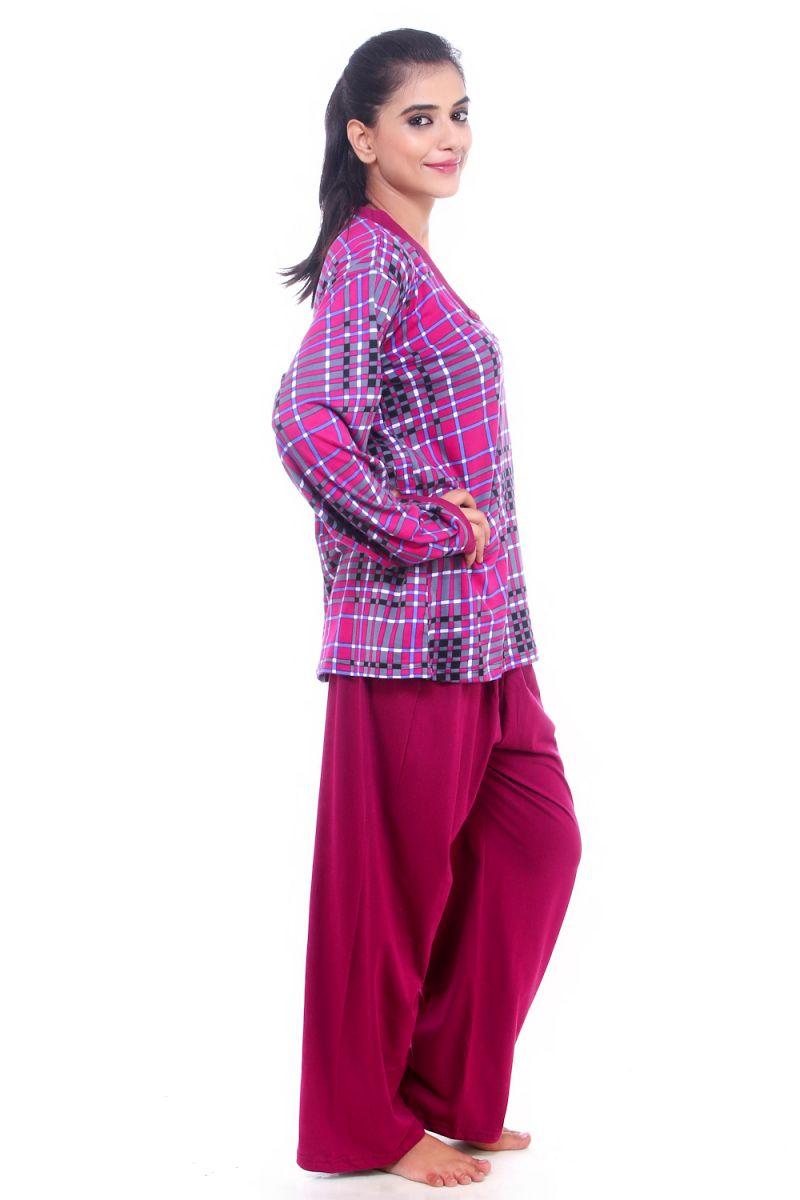 9876b32c62 ... Buy Fasense Women Cotton Nightwear Sleepwear Pyjama Set Nigh quality  design 40dee b58fa  FASENSE SATIN SHORT ...