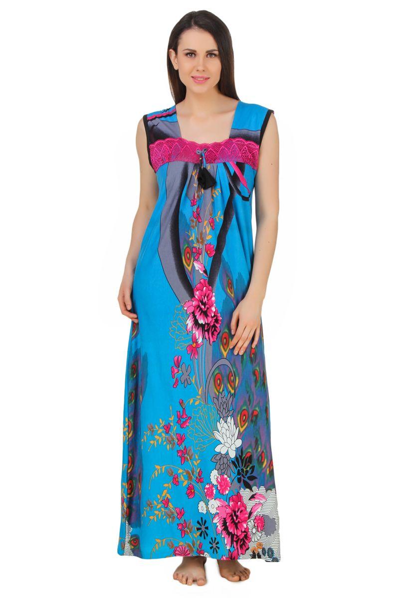 0503712d0e Buy Fasense Exclusive Women Shinker Cotton Nightwear Sleepwear Long Nighty  online
