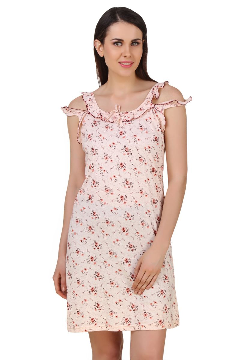 Buy Fasense Exclusive Women Shinker Cotton Nightwear Sleepwear Short Nighty  online bf3708a3a