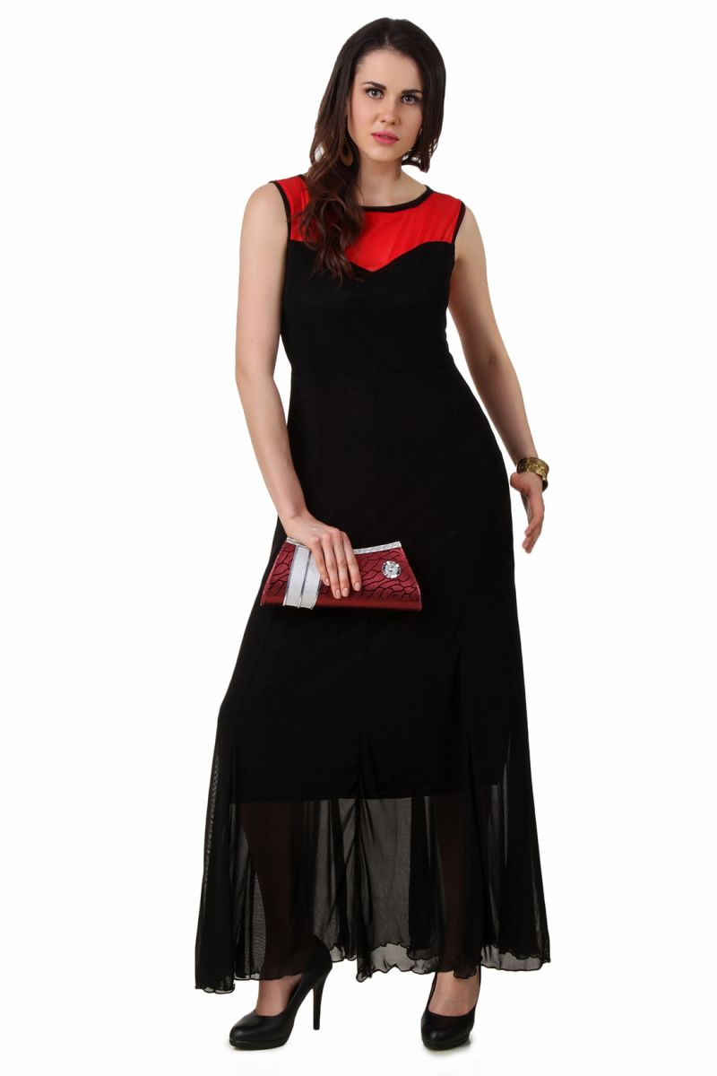 Buy Fasense Women Hot Black Red Party Dress Fd001 B online